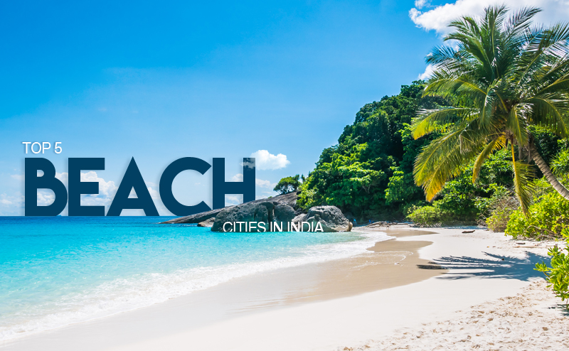 Beach cities in India