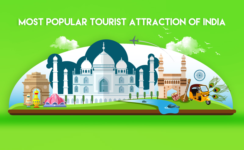 Popular Tourist Attractions in India